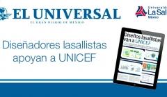 El Universal2 Lasallistas Apoyan UNICEF