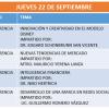 Agenda 22 Sept BD