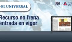 ElUniversal Recursonofrenaentradaenvigor RafaelSolar Derecho BlogEntrada
